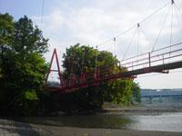 小長井吊橋・写真