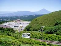十国峠ケーブルカー・写真