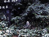 姥神の石像・写真