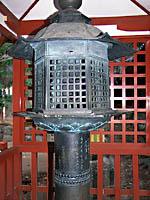 二荒山神社化燈籠