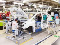 トヨタ自動車工場見学・写真