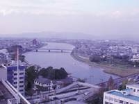 豊橋市役所展望ロビー・写真