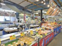 蒲郡海鮮市場・写真