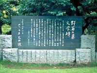 「野菊の墓」文学碑・写真