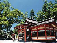 蒲生八幡神社・写真