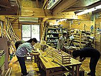 じゅらくの里 木工の館・写真