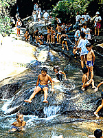 三郎のすべり滝