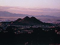 ボタ山(筑豊富士)・写真
