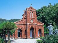 堂崎天主堂 キリシタン資料館・写真