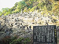 雲巌寺の五百羅漢・写真