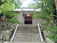 海士潜女神社・写真