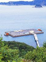 南あわじ海釣り公園 メガフロート・写真
