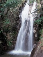 八ツ淵の滝・写真