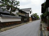 近江八幡の古い町並み・写真
