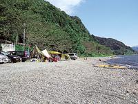 二本松キャンプ水泳場・写真