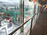 コカコーラウエスト 京都工場(見学)・写真