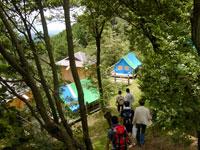 府民の森ちはや園地金剛山キャンプ場・写真