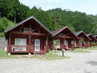 ログハウスとキャンプの石ヶ堂古代村