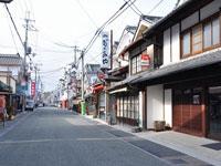 篠山城下の町並み・写真