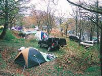 グリーンパークハチ北キャンプ場・写真