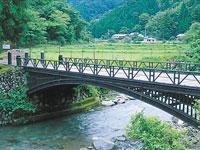 神子畑鋳鉄橋・写真