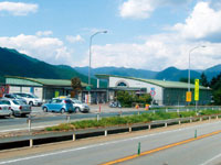 市川サービスエリア(北行き)・写真
