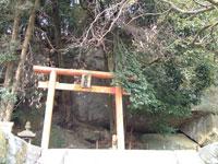 石床神社旧社地・写真