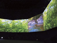 森と水の源流館・写真