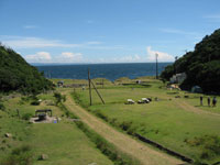 友ヶ島キャンプ場
