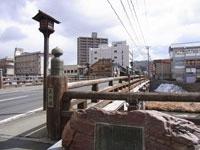 上の橋擬宝珠・写真