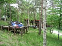 盛岡市外山森林公園キャンプ場・写真