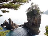 三王岩・写真