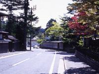 高野山の町並み・写真