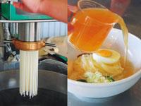 ぴょんぴょん舎 冷麺工房(見学)・写真