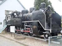 倉吉線鉄道記念館・写真