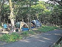 鏡ヶ成キャンプ場・写真
