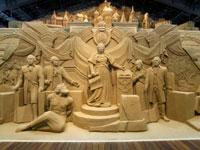 鳥取砂丘 砂の美術館・写真