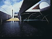 奈義町現代美術館・写真