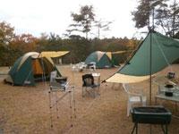 たけべの森公園キャンプ場・写真