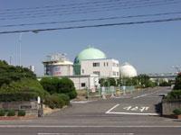 岡山ガス 築港工場(見学)・写真