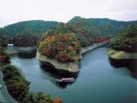 帝釈峡遊覧船・写真
