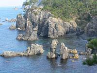 青海島自然研究路・写真