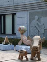 香月泰男美術館・写真