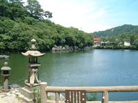 明神池・写真
