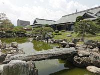 旧徳島城表御殿庭園・写真