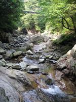 鈍川渓谷・写真