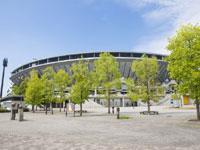 松山中央公園野球場・写真