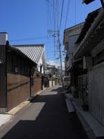 三津の町並み