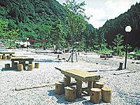 安田川アユおどる清流キャンプ場・写真