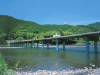 佐田沈下橋・写真
